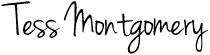 Tess Montgomery