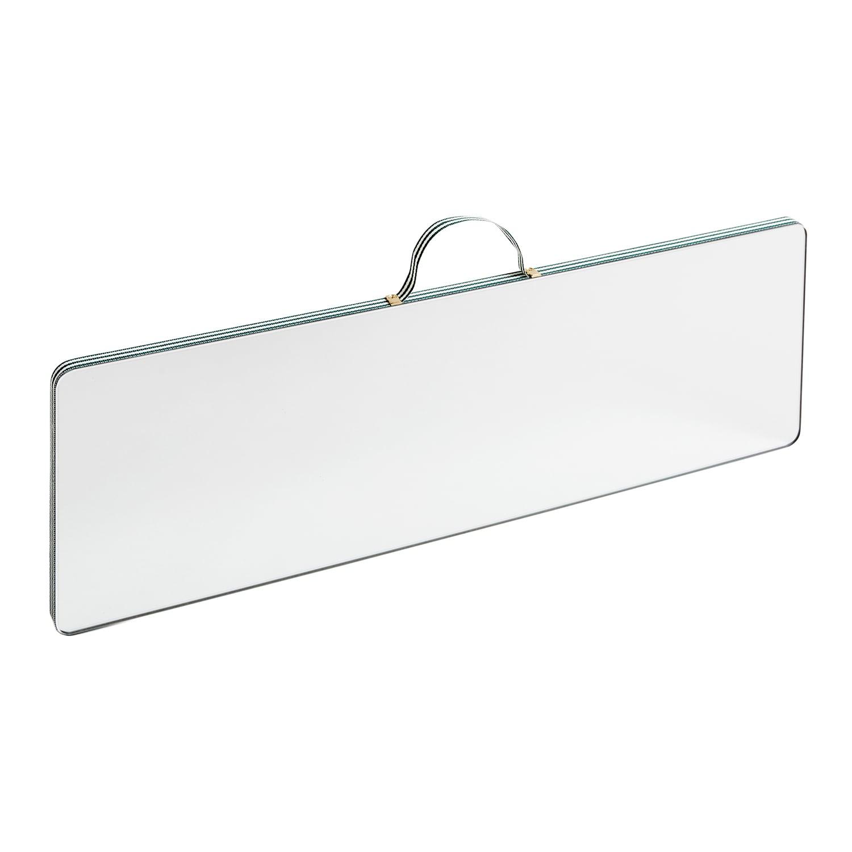 Ruban Rectangular Mirror L Green Stripe Hay Royaldesign Co Uk