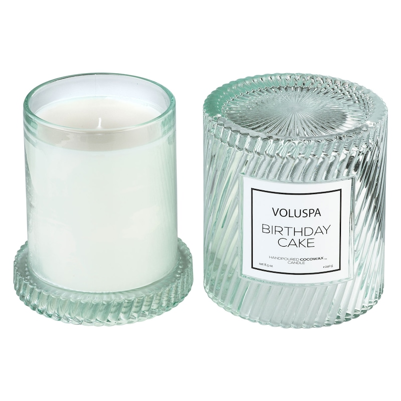 Swell Macaron Scented Candle Birthday Cake 55 H Voluspa Royaldesign Funny Birthday Cards Online Unhofree Goldxyz