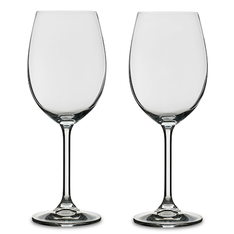 Bitz Wine glass 4 pack, ClearBlue