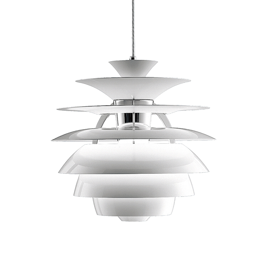 Hanging Lamp Philippines: PH Snowball Pendant Light 300W, White/wet Painted