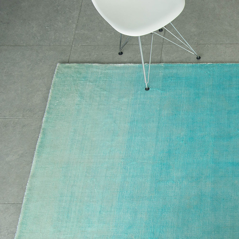 Designers Guild, Eberson Aqua, Rug, Small
