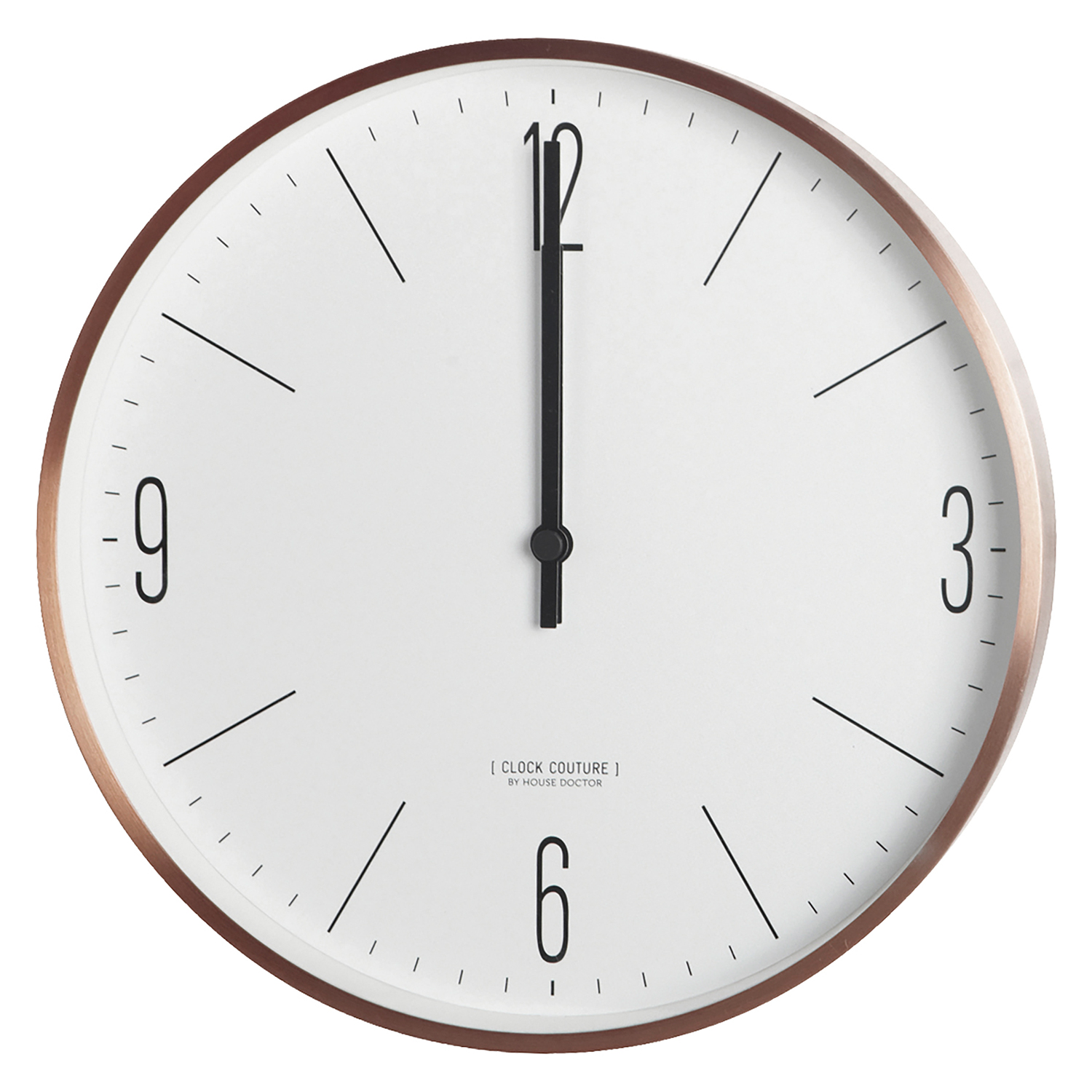 couture wall clock house doctor house doctor. Black Bedroom Furniture Sets. Home Design Ideas
