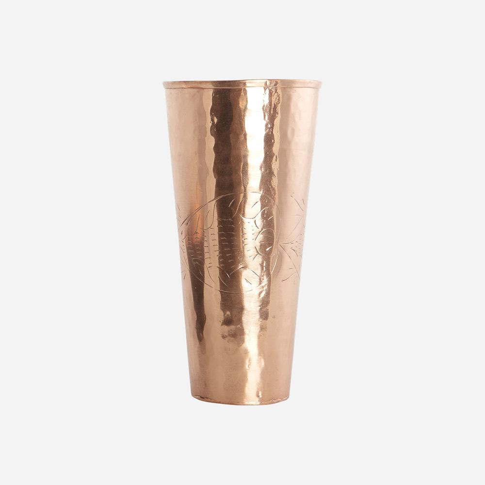 dely vase copper house doctor. Black Bedroom Furniture Sets. Home Design Ideas