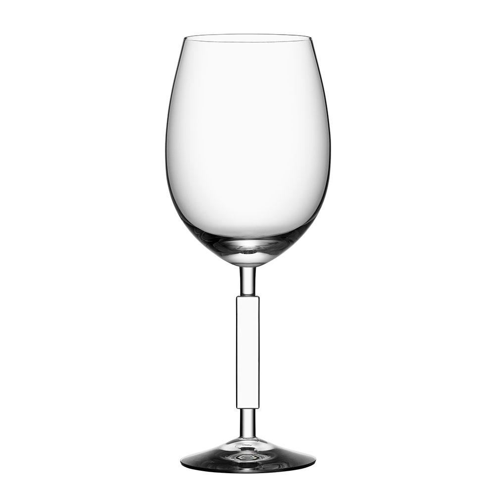 Unique Red Wine Glass Anna Ehrner Orrefors