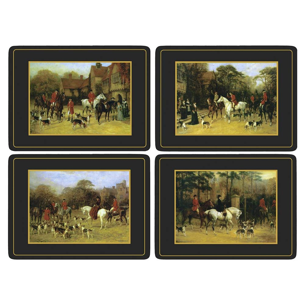 Tally Ho Placemats, Set of 4 - Pimpernel - Pimpernel - RoyalDesign.co.uk