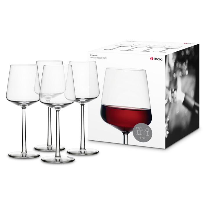 Essence Red Wine Glass Set Of 4 Alfredo H Berli
