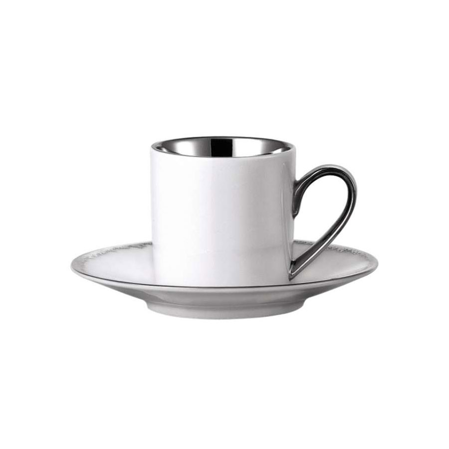silver dust espresso cup silver classic rosenthal. Black Bedroom Furniture Sets. Home Design Ideas